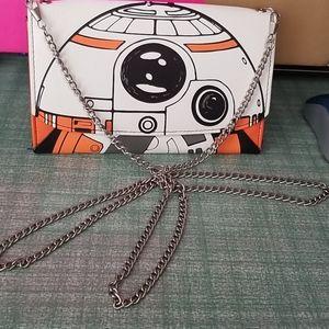 BB8 starwars purse